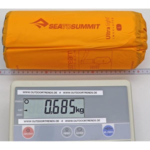 Sea to Summit Ultralight Insulated Mat - Schlafmatte orange - Bild 4
