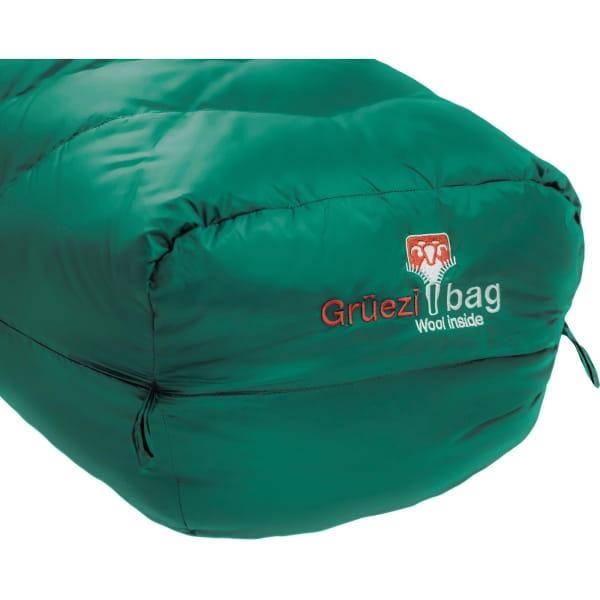 Grüezi Bag Biopod DownWool Subzero - Daunen- & Wollschlafsack pine green - Bild 27