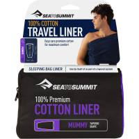 Sea to Summit Premium Cotton Travel Liner Mummy - Inlet