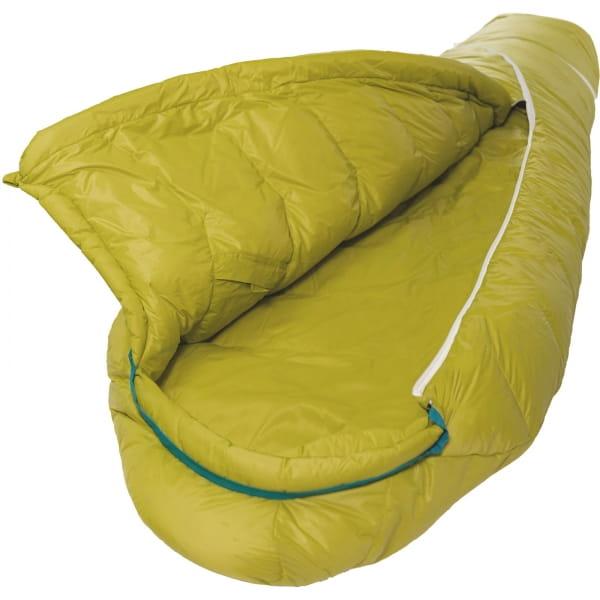 Grüezi Bag Biopod DownWool KidsTeen - Daunen- & Wollschlafsack citron - Bild 4