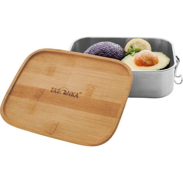 Tatonka Lunch Box I Bamboo 1000 ml - Edelstahl-Proviantdose stainless - Bild 3