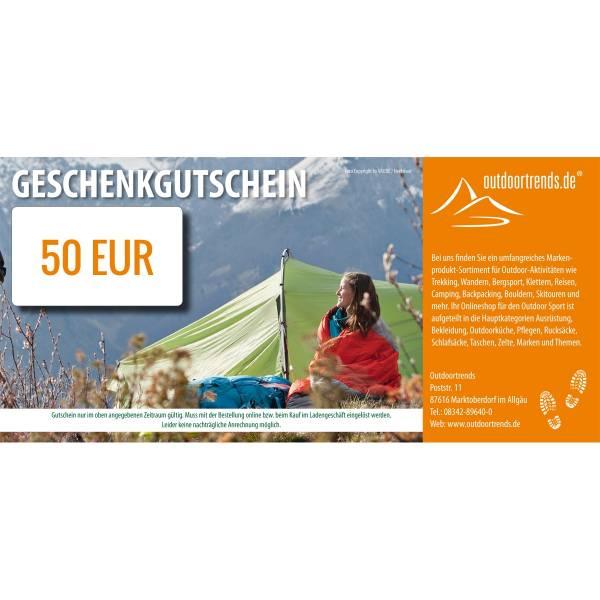 outdoortrends Geschenkgutschein - 50 EUR - Bild 1