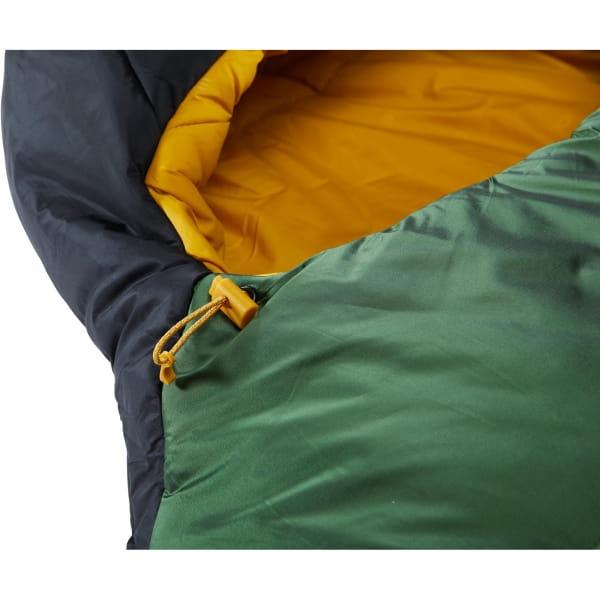 Nordisk Gormsson -2° Egg - 3-Jahreszeiten-Schlafsack artichoke green-mustard yellow-black - Bild 9
