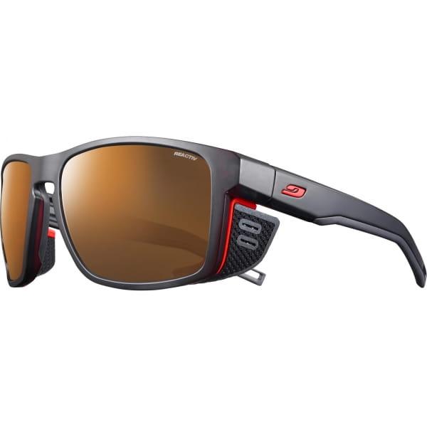 JULBO Shield M Reactiv 2-4 Polarized - Bergbrille schwarz-orange - Bild 4