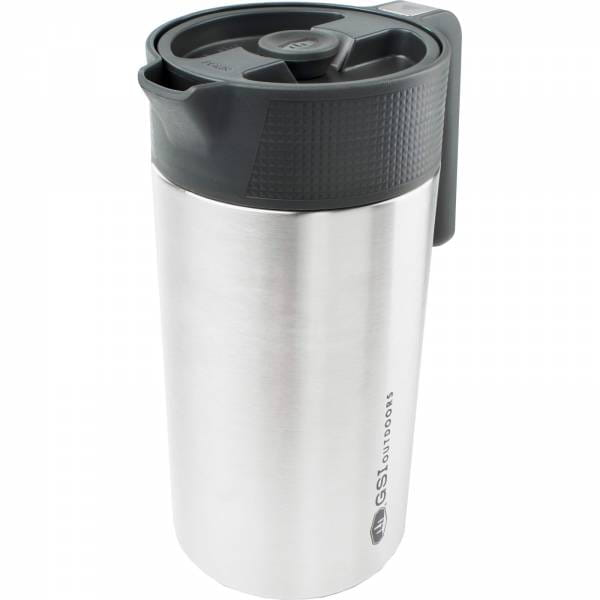 GSI Glacier Stainless Java Press - Kaffee-Kanne mit Filter - Bild 1