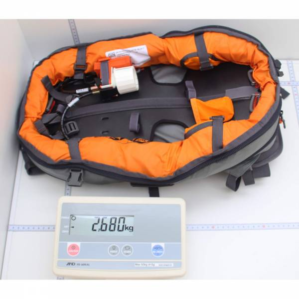 ABS P.RIDE Compact Base Unit Set ohne Auslöseeinheit - Lawinenrucksack - Bild 8