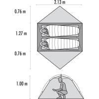 Vorschau: MSR Hubba Hubba NX - 2 Personen Zelt - Bild 12