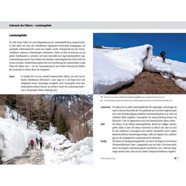Panico Verlag Hohe Tauern - Skitourenführer - Bild 5