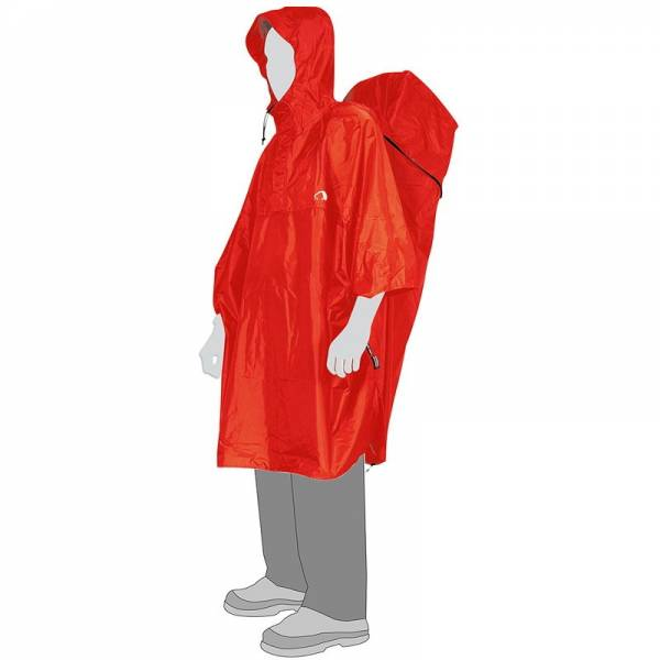 Tatonka Cape Men XL - Poncho red - Bild 1