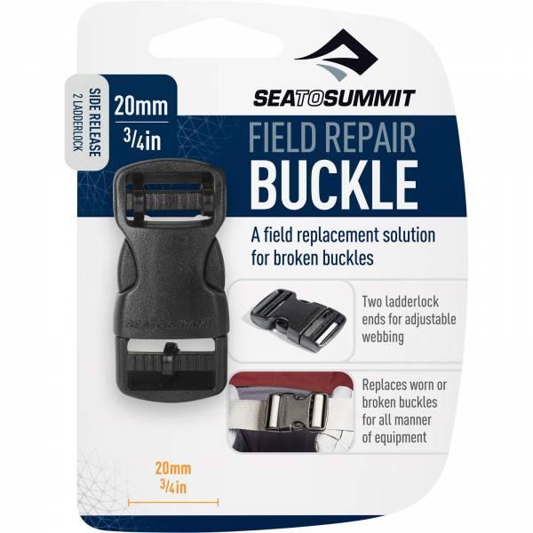 Sea to Summit Field Repair Buckle Side Release 2 Ladderlock 20 mm - Gurtschnalle - Bild 1