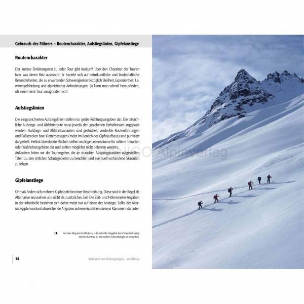 Panico Verlag Vorarlberg - Skitourenführer - Bild 3