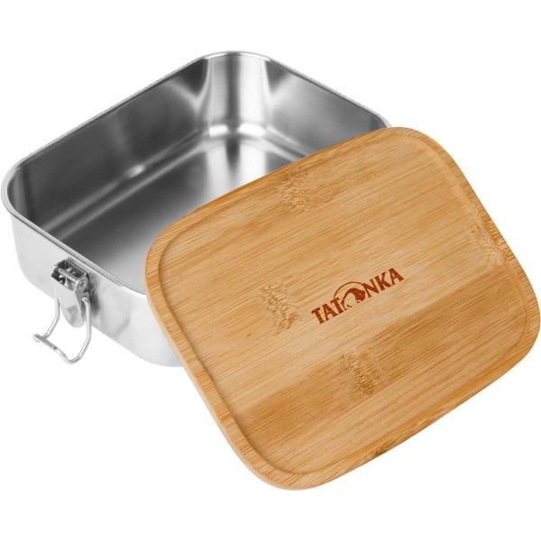 Tatonka Lunch Box I Bamboo 800 ml - Edelstahl-Proviantdose stainless - Bild 1
