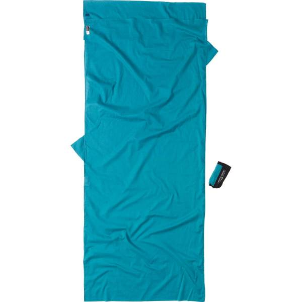 COCOON Egyptian Cotton Insect Shield TravelSheet laguna blue - Bild 2