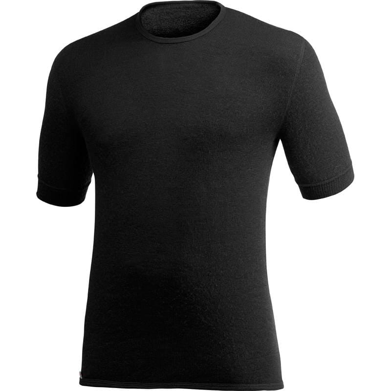 Woolpower Tee 200 - T-Shirt black - Bild 1