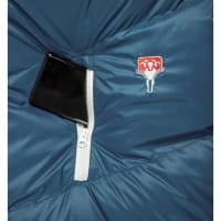 Vorschau: Grüezi Bag Biopod DownWool Ice Women - Daunen- & Wollschlafsack ice blue - Bild 7