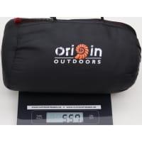 Vorschau: Origin Outdoors Sleeping Liner Mikrofleece bordeaux - Bild 2