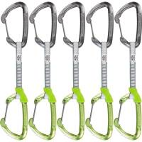 Climbing Technology Lime Wire Set DY 12 cm Eloxiert 5er Pack - Express-Sets