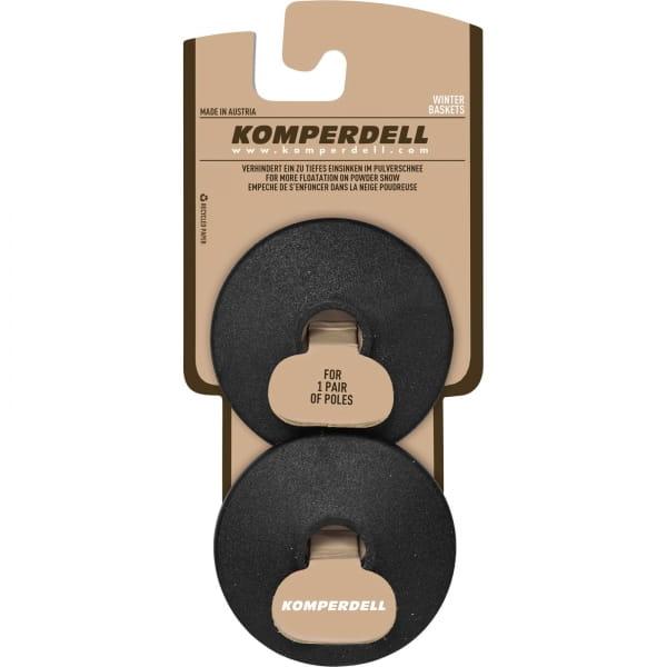 Komperdell Standard Race Basket - Stockteller schwarz - Bild 1