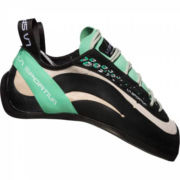 La Sportiva Miura Woman - Kletterschuhe white-jade green - Bild 2