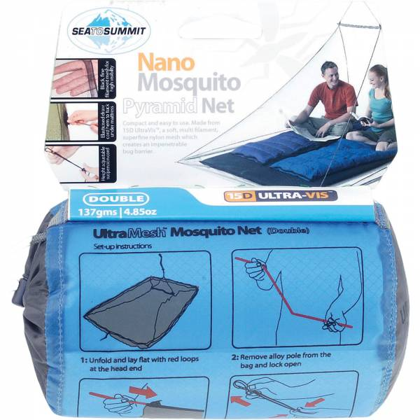 Sea to Summit Nano Mosquito Net Double Standard - Bild 1