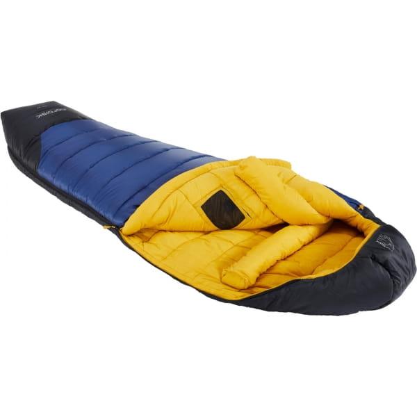 Nordisk Puk -10° Mummy - Winterschlafsack true navy-mustard yellow-black - Bild 1