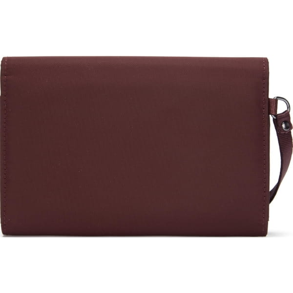 pacsafe RFIDsafe Women's Clutch Wallet - Geldbörse merlot - Bild 8