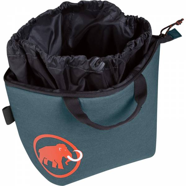 Mammut Magic Boulder Chalk Bag - großer Magnesiabeutel dark chill - Bild 2