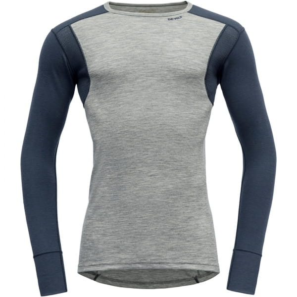 DEVOLD Hiking Man Shirt - Funktionsshirt grey melange-night - Bild 4