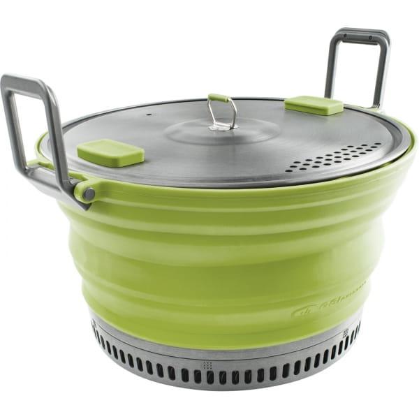 GSI Escape Set - faltbarer Kochtopf und Pfanne green - Bild 5