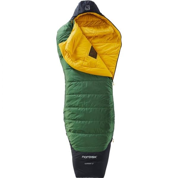 Nordisk Gormsson -2° Curve - 3-Jahreszeiten-Schlafsack artichoke green-mustard yellow-black - Bild 4