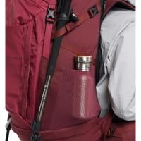 Vorschau: Haglöfs Ströva 65 - Trekkingrucksack brick red-light maroon red - Bild 3