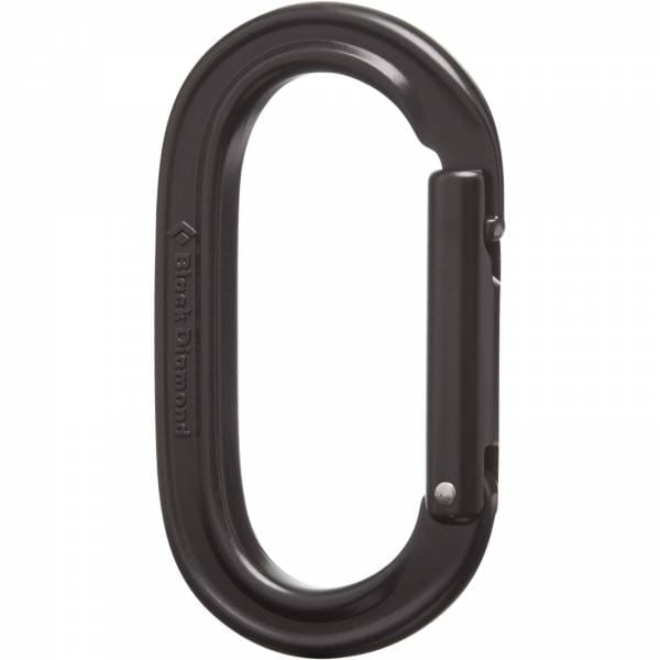 Black Diamond Oval Keylock - Karabiner black - Bild 1