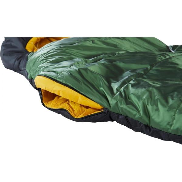 Nordisk Gormsson -2° Curve - 3-Jahreszeiten-Schlafsack artichoke green-mustard yellow-black - Bild 12