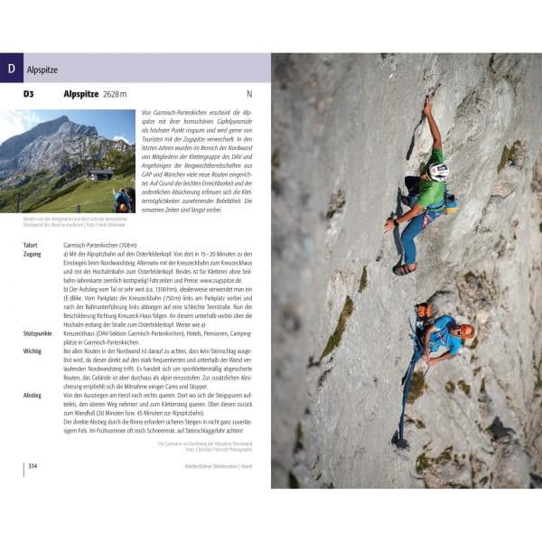 Panico Verlag Wetterstein Nord - Kletterführer Alpin - Bild 9