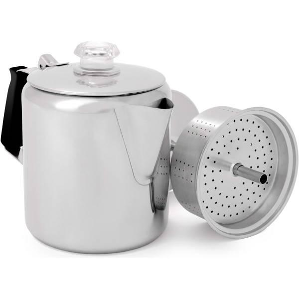 GSI Glacier Stainless 6 Cup Percolator - Kaffee-Kocher - Bild 1