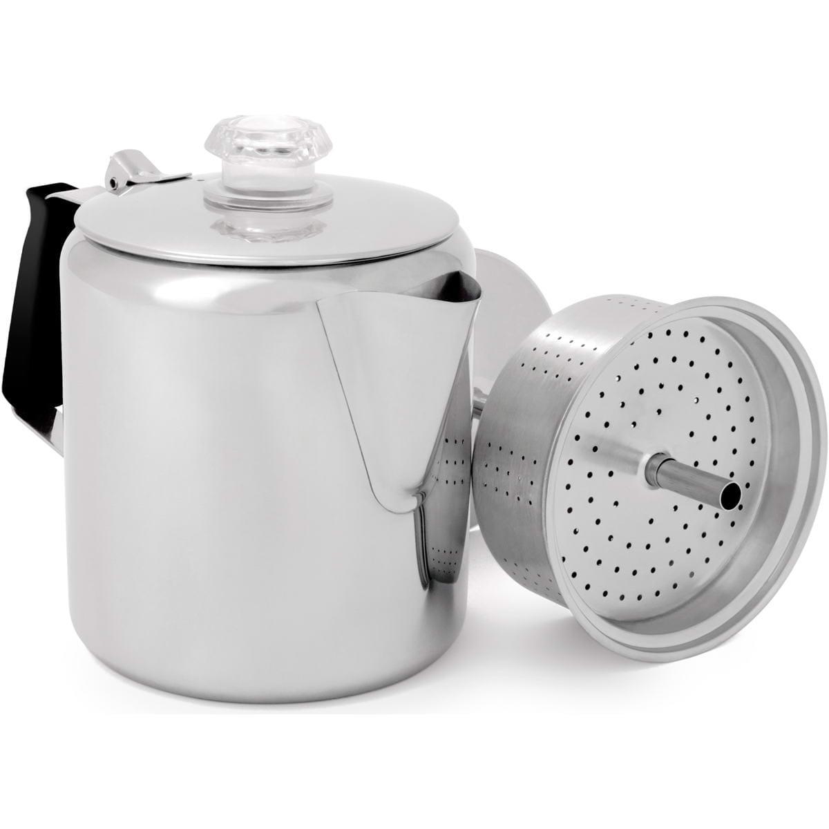 gsi glacier stainless 6 cup percolator kaffee kocher g nstig online kaufen. Black Bedroom Furniture Sets. Home Design Ideas