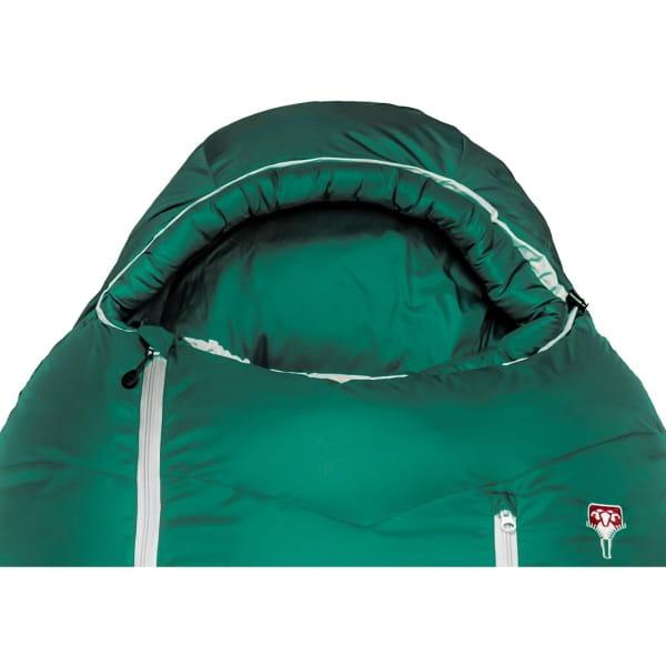 Grüezi Bag Biopod DownWool Subzero - Daunen- & Wollschlafsack pine green - Bild 5