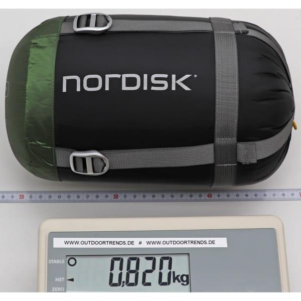 Nordisk Gormsson +4° Curve - Sommerschlafsack artichoke green-mustard yellow-black - Bild 11