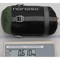 Vorschau: Nordisk Gormsson +10° Curve - Sommerschlafsack artichoke green-mustard yellow-black - Bild 4